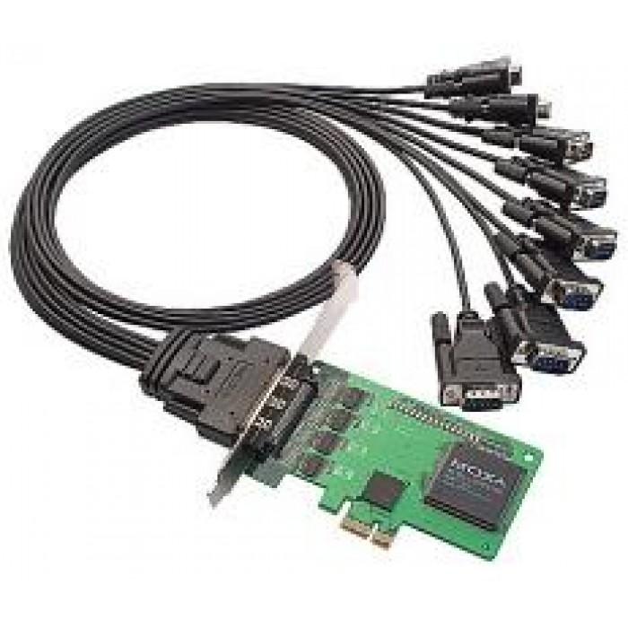 MOXA CP-168EL-A w/o Cable