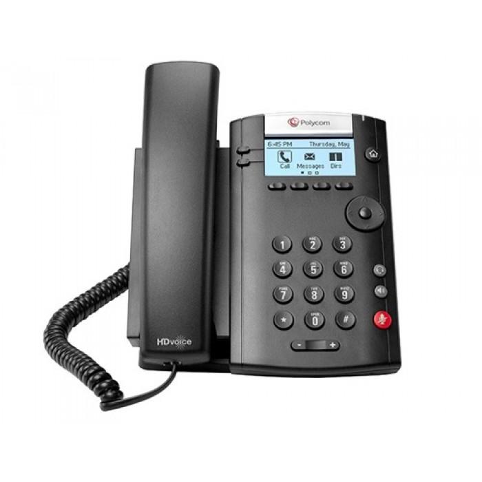 IP-телефон VVX 201 (Skype for Business/Lync edition) 2200-40450-019