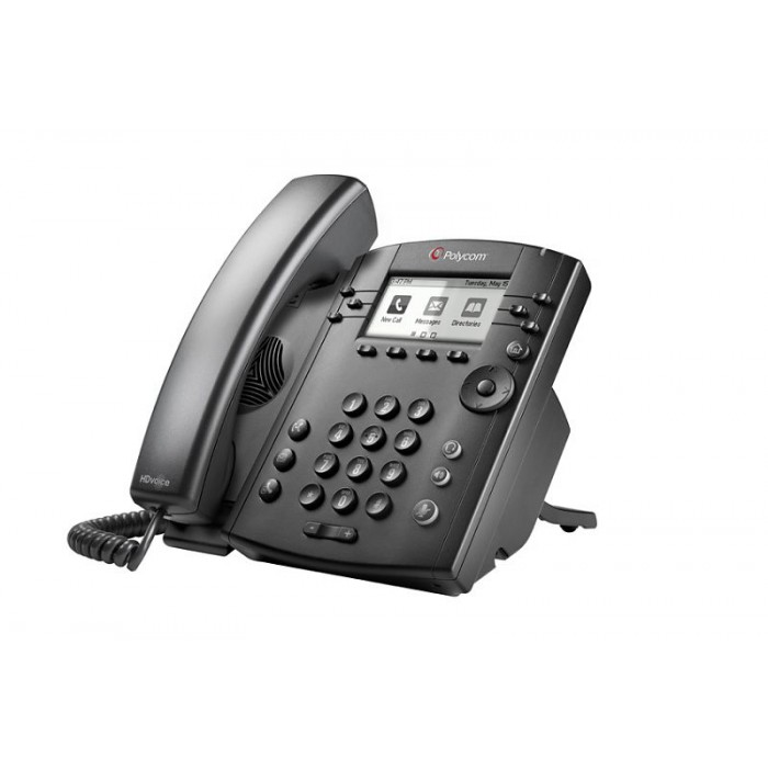 IP-телефон VVX 301 (Skype for Business/Lync edition) 2200-48300-019
