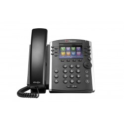 IP-телефон VVX 411 (Skype for Business/Lync edition) 2200-48450-019