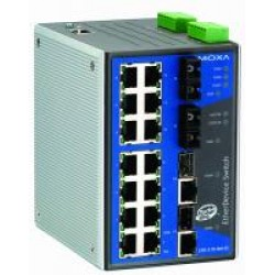 MOXA EDS-518A-MM-ST-T