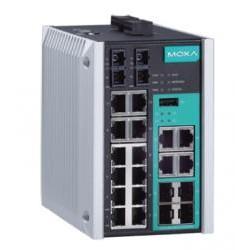 MOXA EDS-518E-MM-SC-4GTXSFP-T