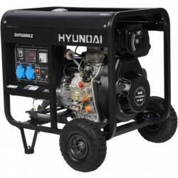 Дизельный генератор Hyundai DHY 6000LE