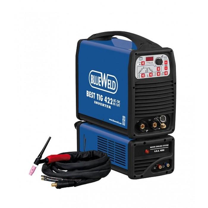 Blueweld BEST TIG 422 AC/DC-HF/LIFT 400V AQUA